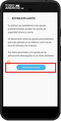 Restablecer los Valores de Fábrica Android 7.0 - todoandroid360 - 06