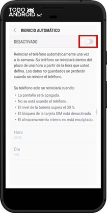 Reinicio automático Android 7.0 - todoandroid360 - 09