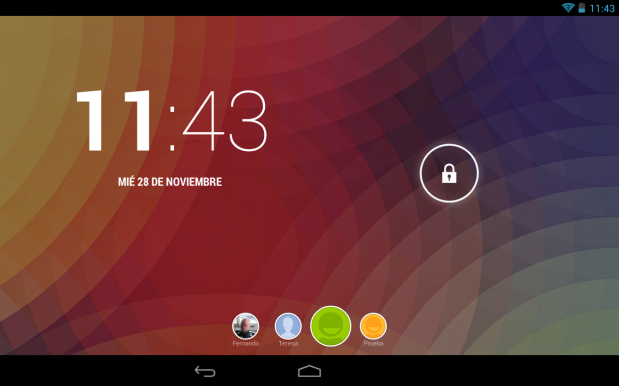Tablet Android - todoandroid360 - Bloqueo de Pantalla