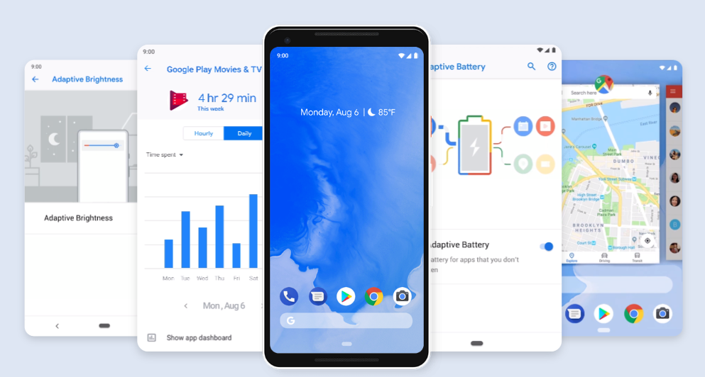 Android Pie - todoandroid360 - Android 9
