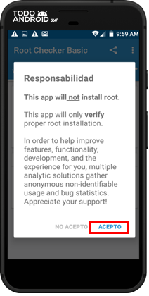 Root Checker Basic - Todoandroid - 05