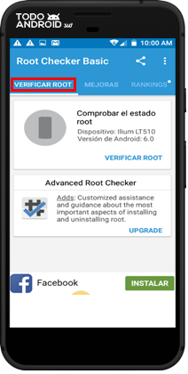 Root Checker Basic - Todoandroid - 07