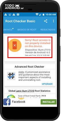 Root Checker Basic - Todoandroid - 08